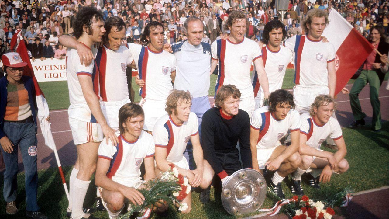 Auswärtstrikot der Saison 1973/74 - Bildquelle: Imago