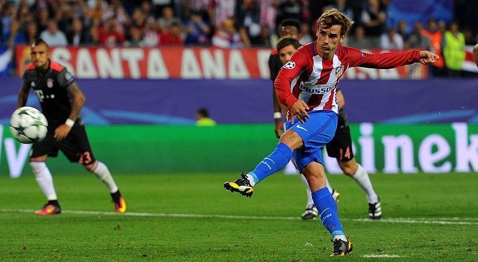 Antoine Griezmann (Frankreich, Atletico Madrid) - Bildquelle: 2016 Getty Images