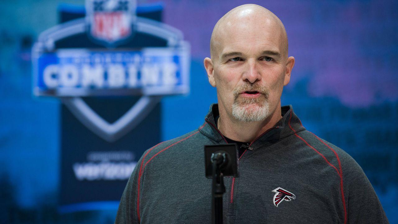 Defensive Coordinator: Dan Quinn - Bildquelle: Imago
