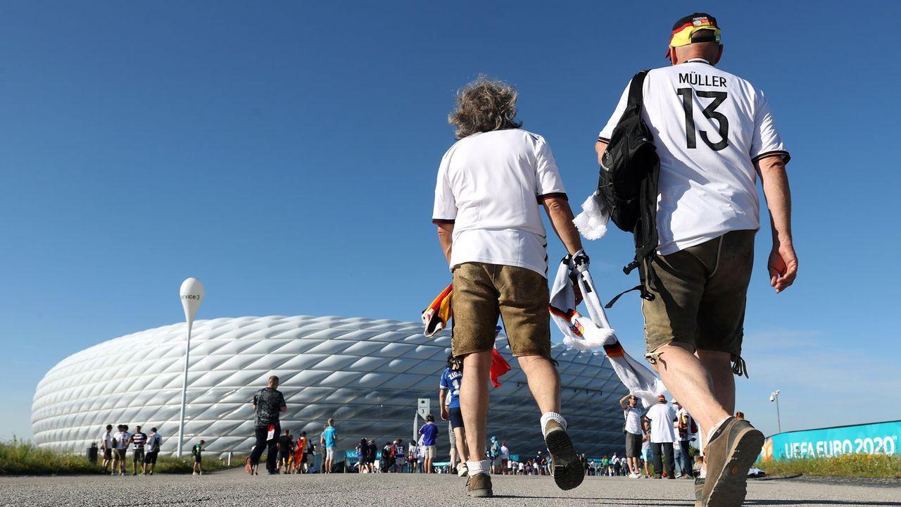 Auf in die Arena - Bildquelle: Getty Images