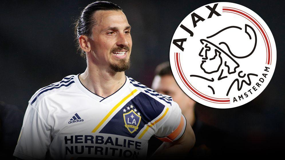 Zlatan Ibrahimovic kann sich eine Ajax-Rückkehr vorstellen - Bildquelle: getty