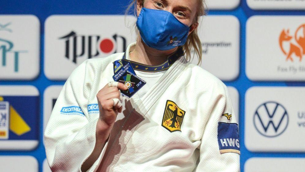 Judo: Luise Malzahn verpasst den EM-Titel hauchdünn - Bildquelle: AFPSIDMICHAL CIZEK