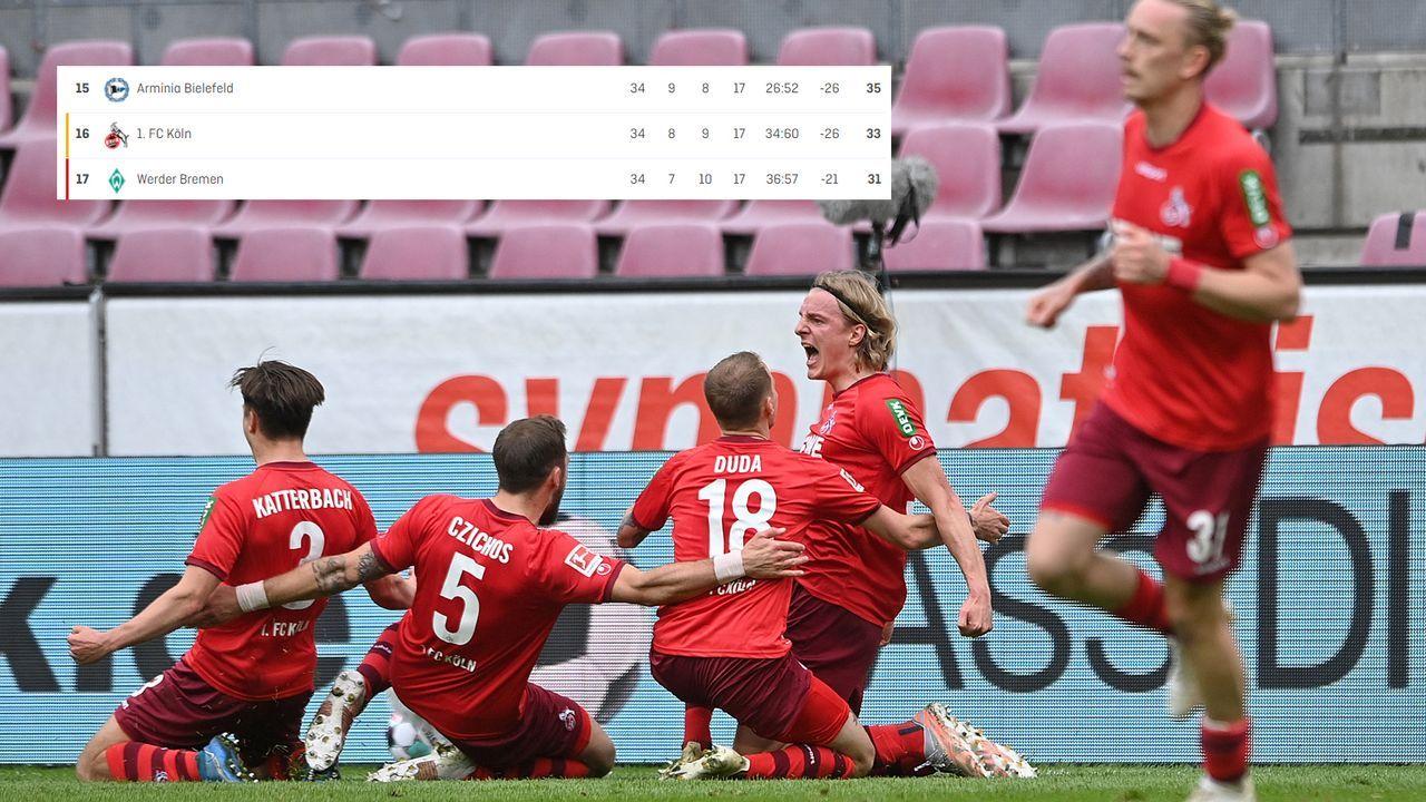 86. Minute: Köln vor der Rettung - Bildquelle: 2021 Getty Images