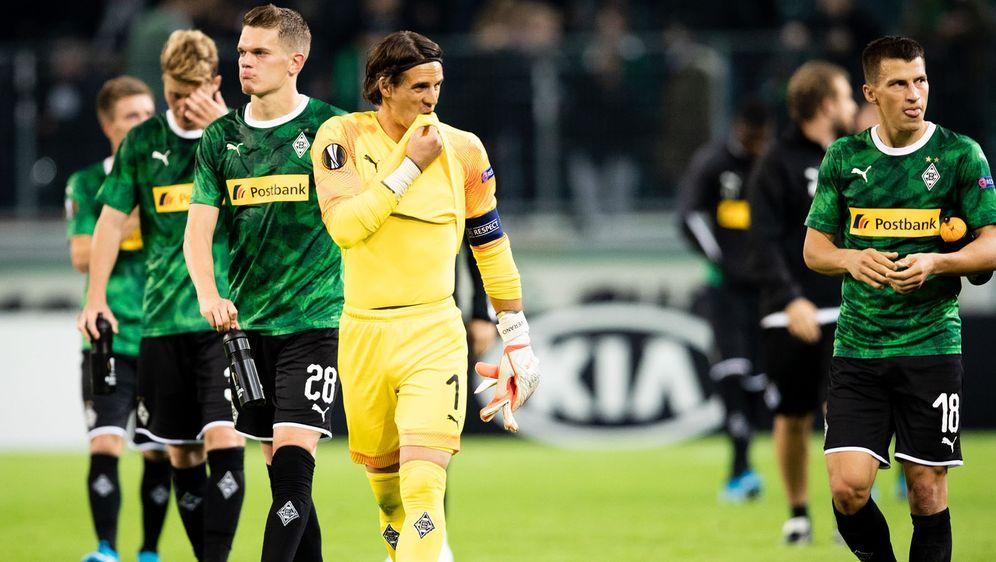 Mönchengladbach hatte gegen Wolfsberg keine Chance. - Bildquelle: imago