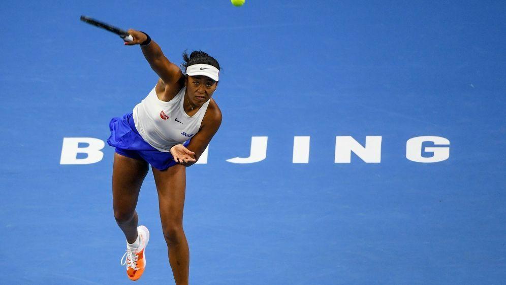 Naomi Osaka feiert ihren fünften Titel auf der WTA-Tour - Bildquelle: AFPSIDGREG BAKER