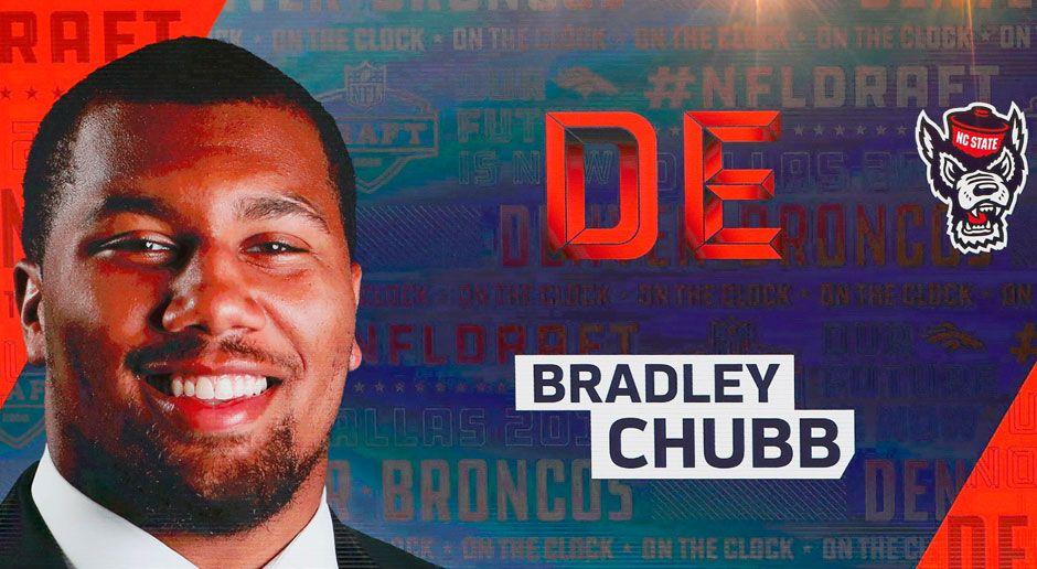 5. Bradley Chubb (Defensive End, Denver Broncos)  - Bildquelle: 2018 Getty Images