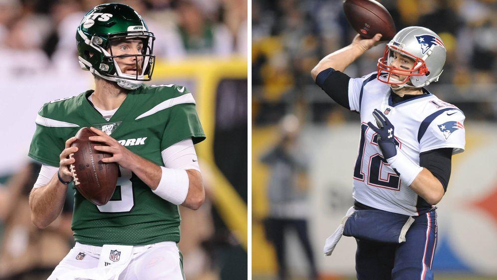 Luke Falk trifft mit den New York Jets auf Tom Brady und die New England Pat...
