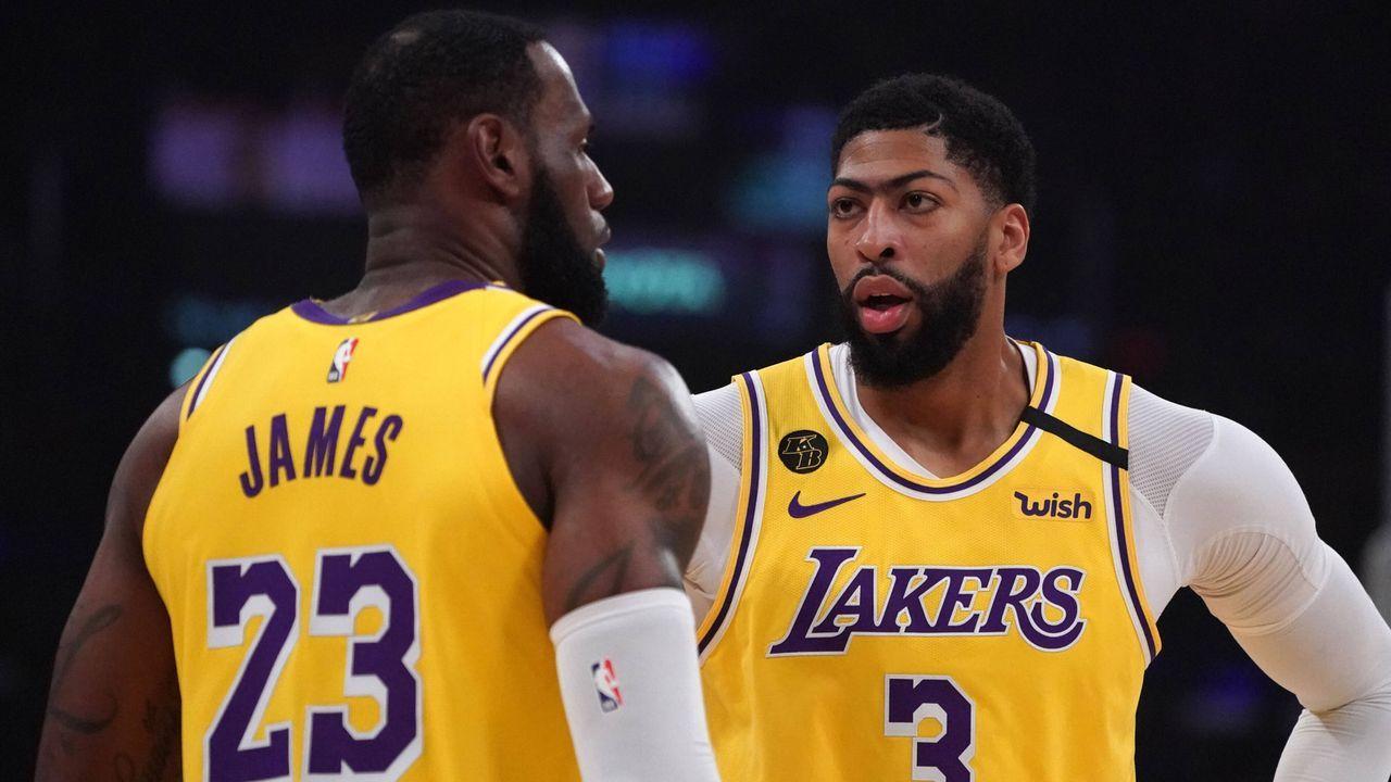 Westen: Los Angeles Lakers - Bildquelle: imago images/ZUMA Wire