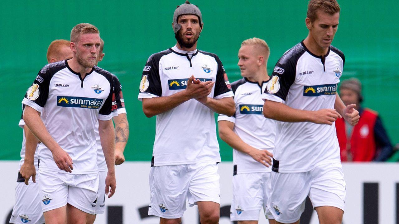 Platz 10: SC Paderborn - Bildquelle: imago images / Noah Wedel