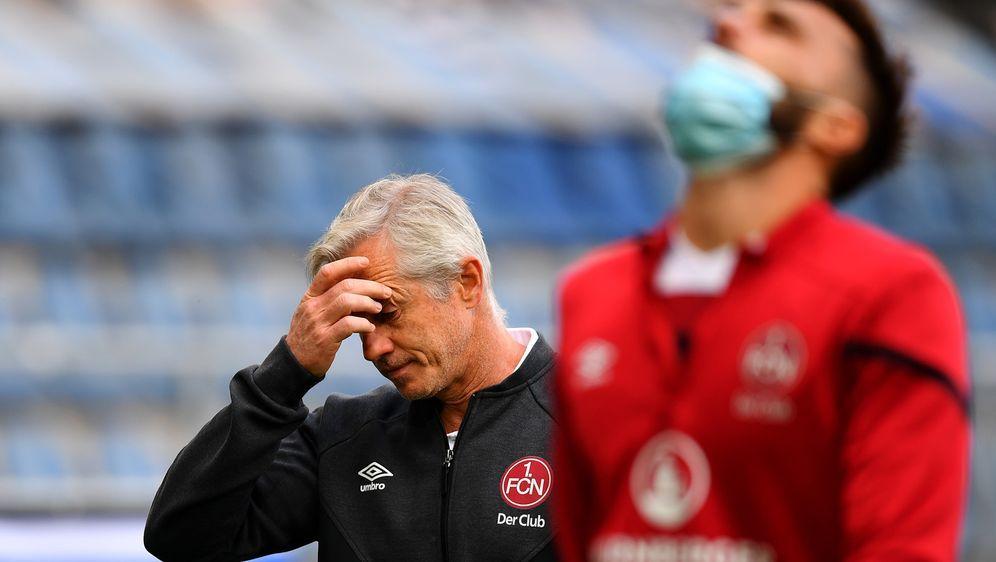 Der 1. FC Nürnberg entlässt Trainer Jens Keller - Bildquelle: Getty Images