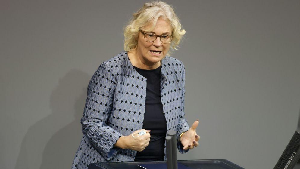 Bundesjustizministerin Christine Lambrecht - Bildquelle: AFPSIDODD ANDERSEN