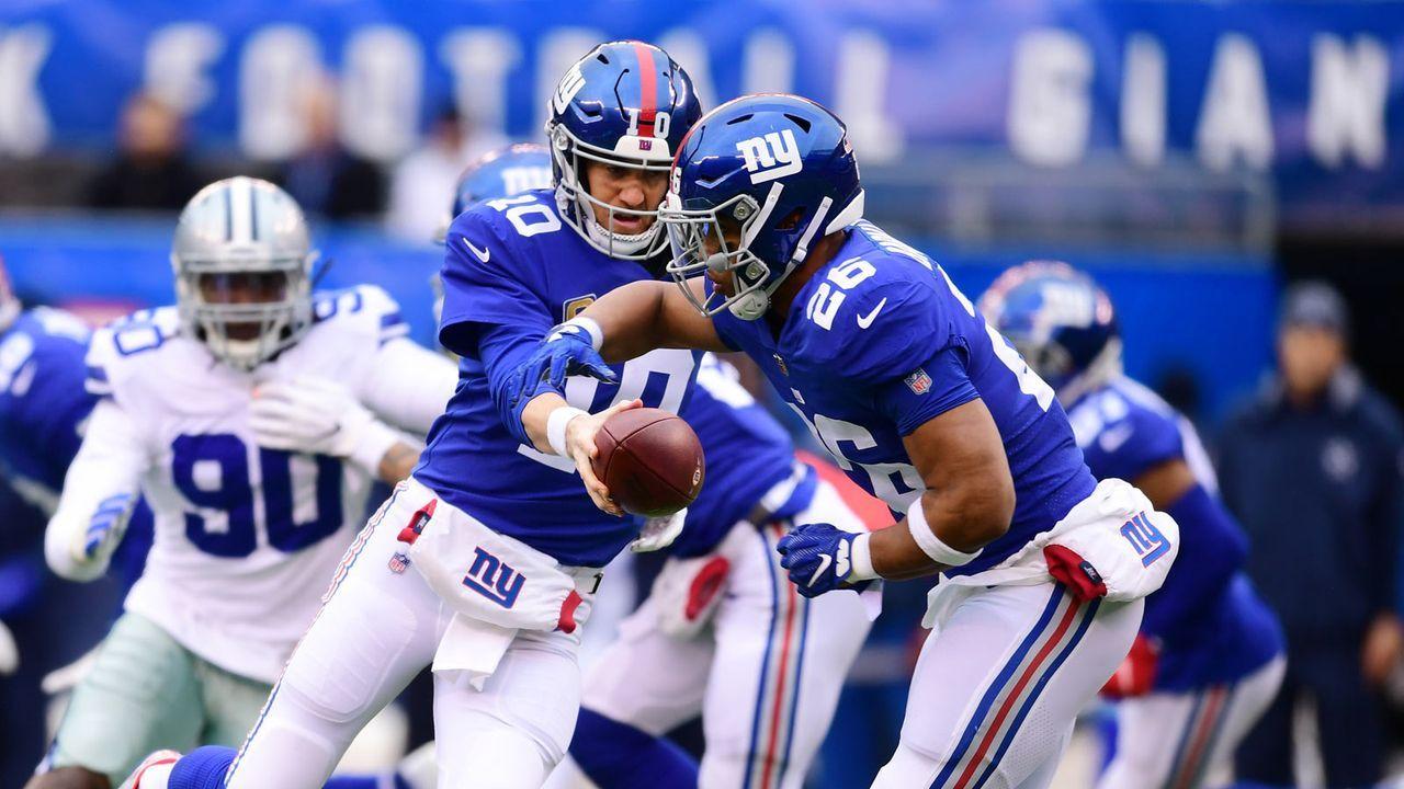 New York Giants: 12 Picks - Bildquelle: 2018 Getty Images