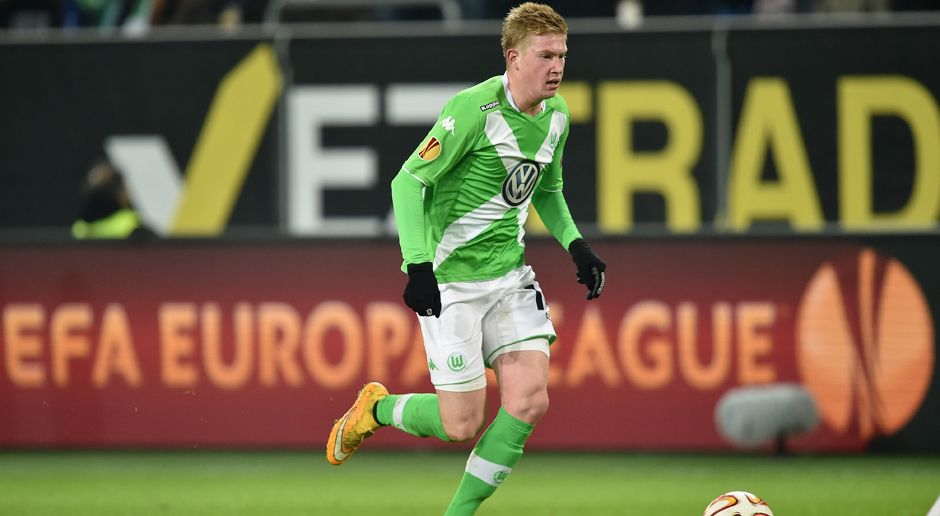 2014 - Kevin De Bruyne zum VfL Wolfsburg (22 Mio.) - Bildquelle: 2014 Getty Images