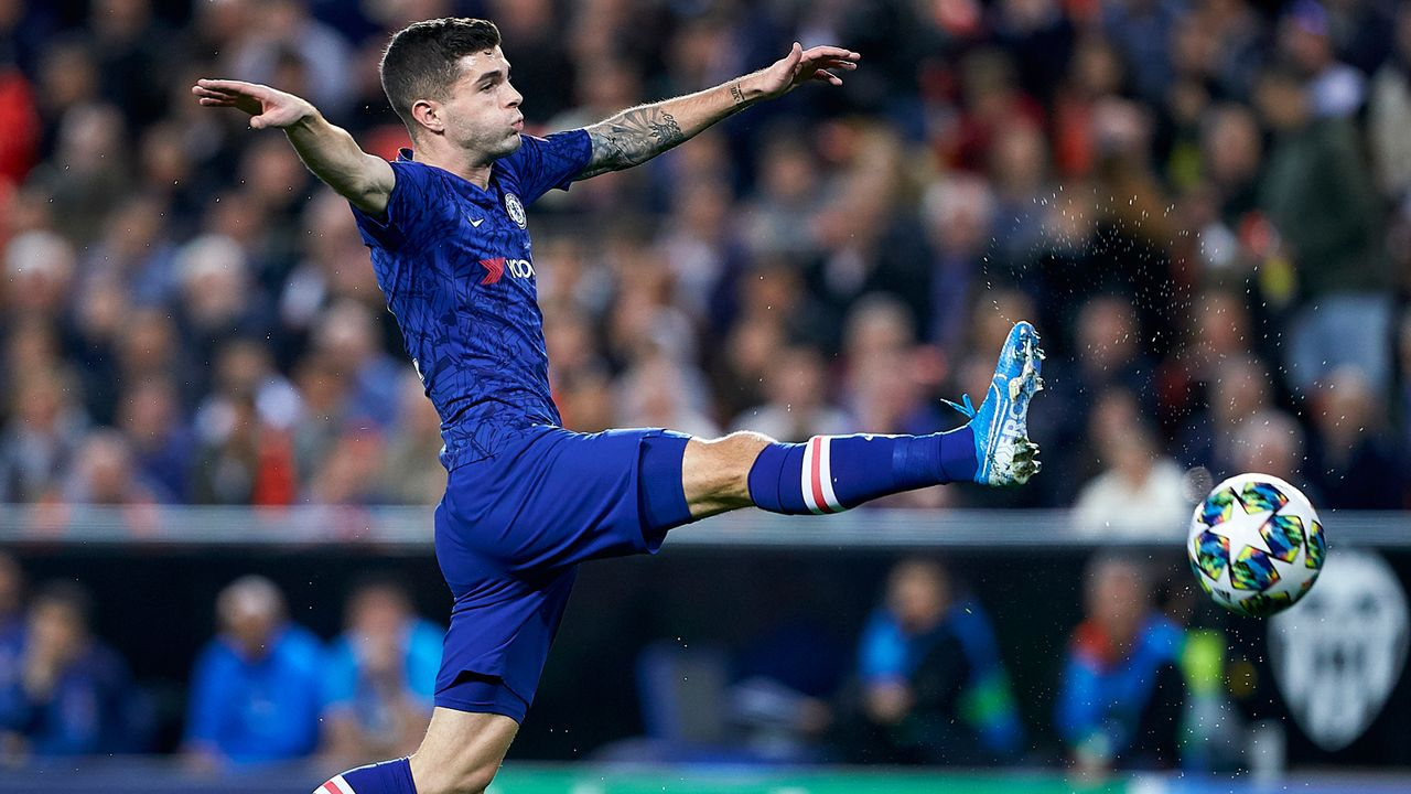 Platz 3: Christian Pulisic - Bildquelle: 2019 Getty Images
