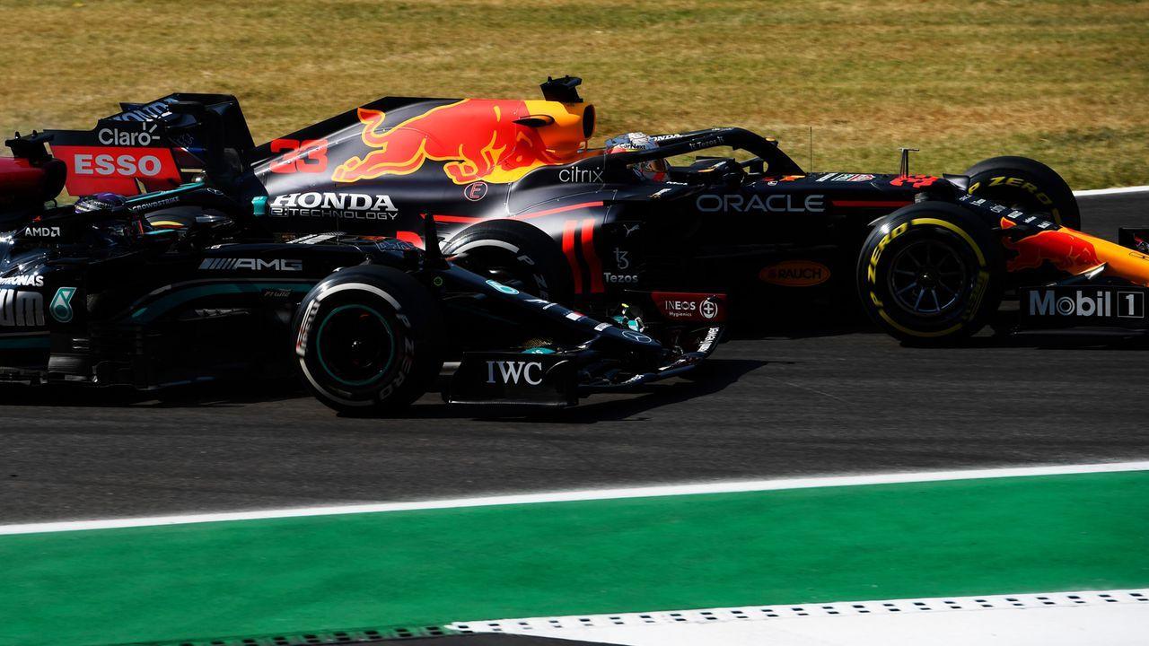 Verlierer: Lewis Hamilton - Bildquelle: 2021 Getty Images