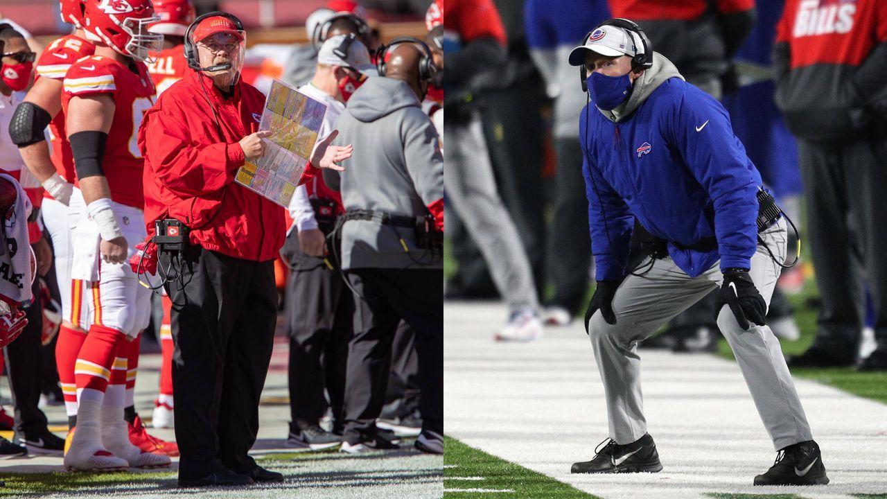 Bills at Chiefs: Sean McDermott vs. Andy Reid - Bildquelle: imago images/Getty Images