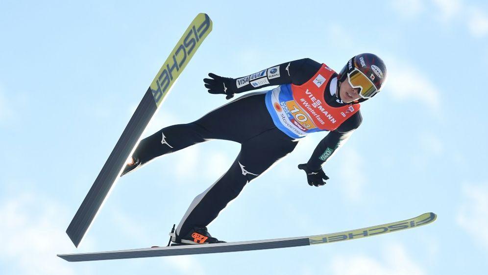 Junshiro Kobayashi hat die Quali in Lillehammer gewonnen - Bildquelle: AFPSIDJOE KLAMAR