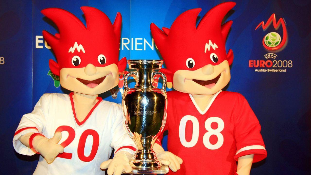 Österreich und Schweiz 2008: Trix und Flix - Bildquelle: imago sportfotodienst