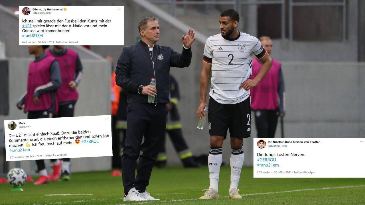 Die Netzreaktionen zur Zitterpartie der DFB-Junioren - Bildquelle: Imago Images