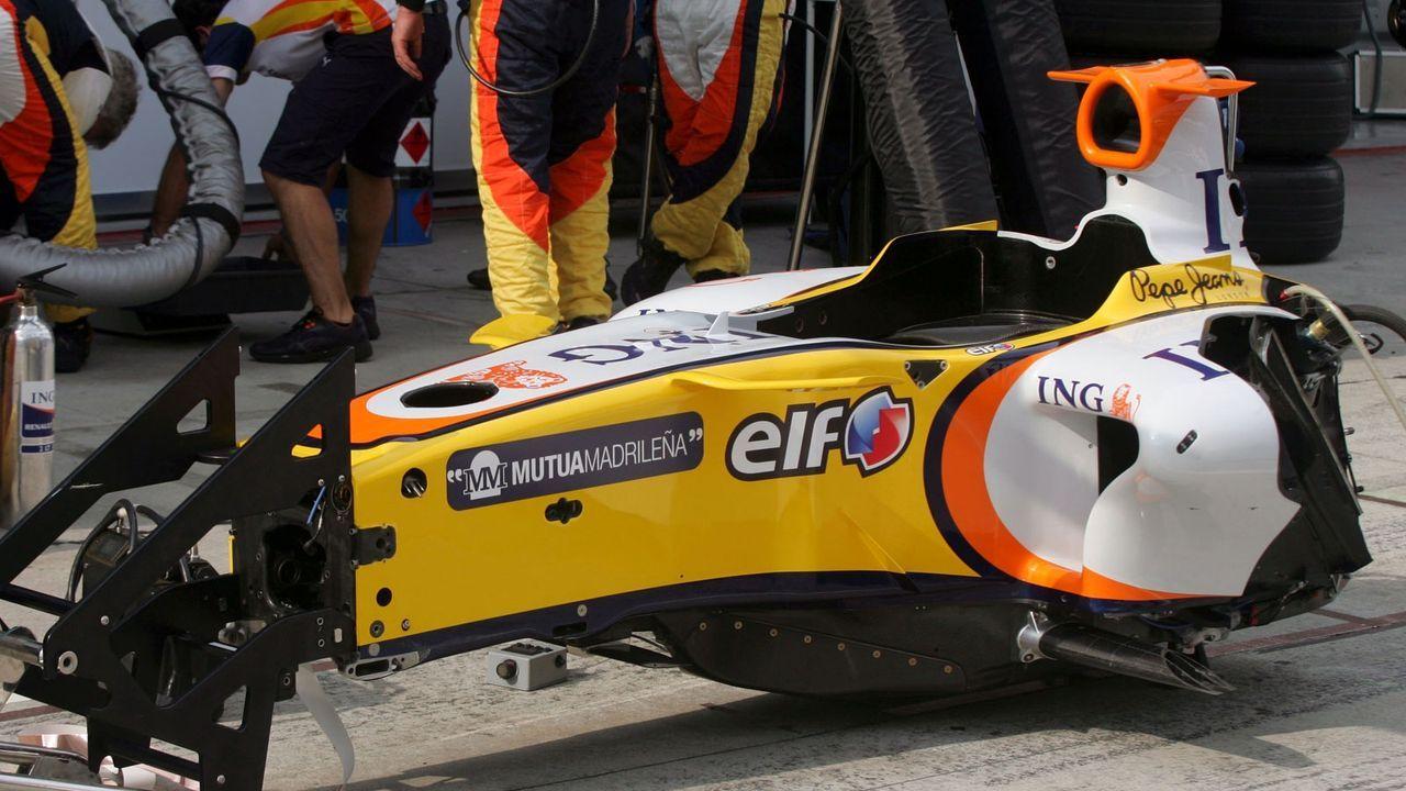 Das Monocoque - Bildquelle: imago images/Motorsport Images