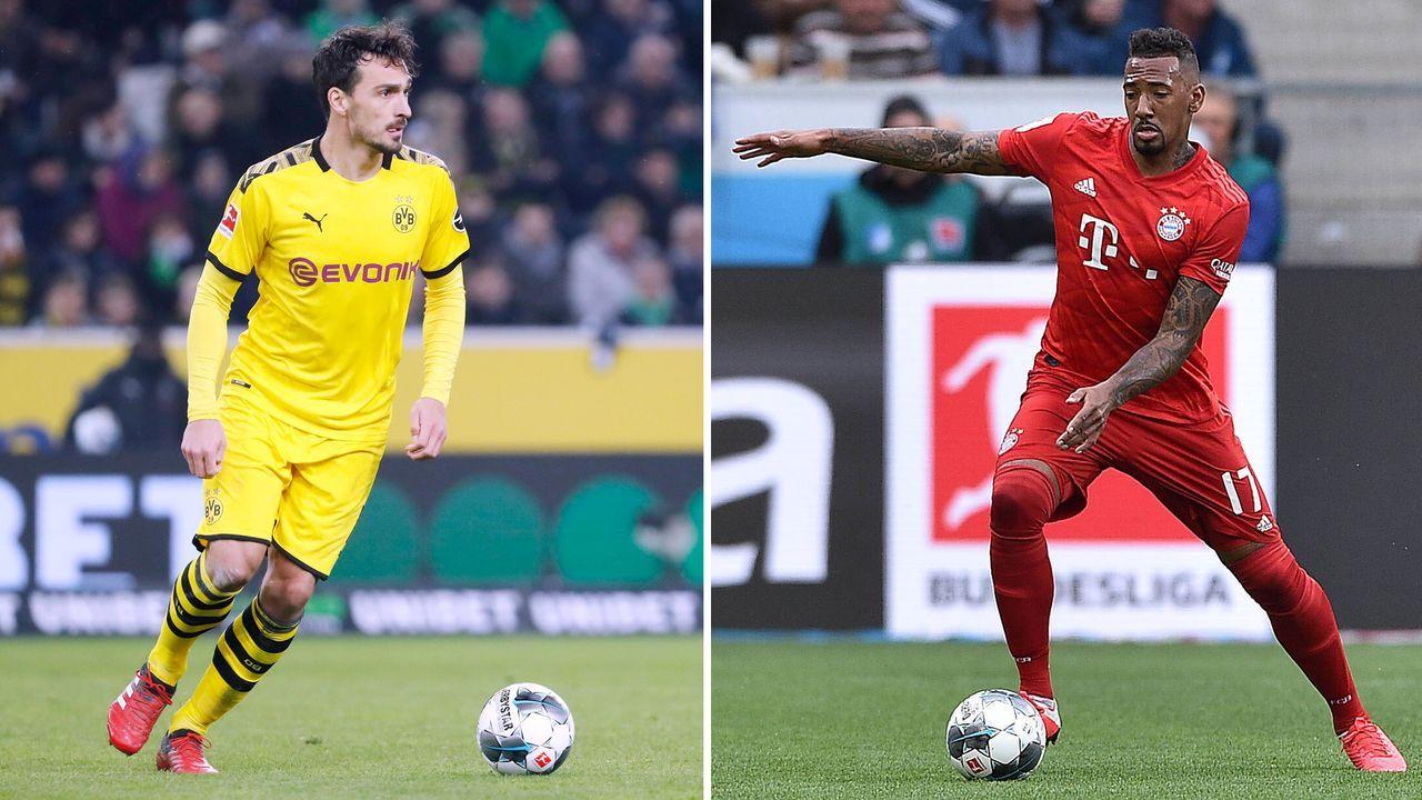 Innenverteidiger: Mats Hummels vs. Jerome Boateng - Bildquelle: imago images