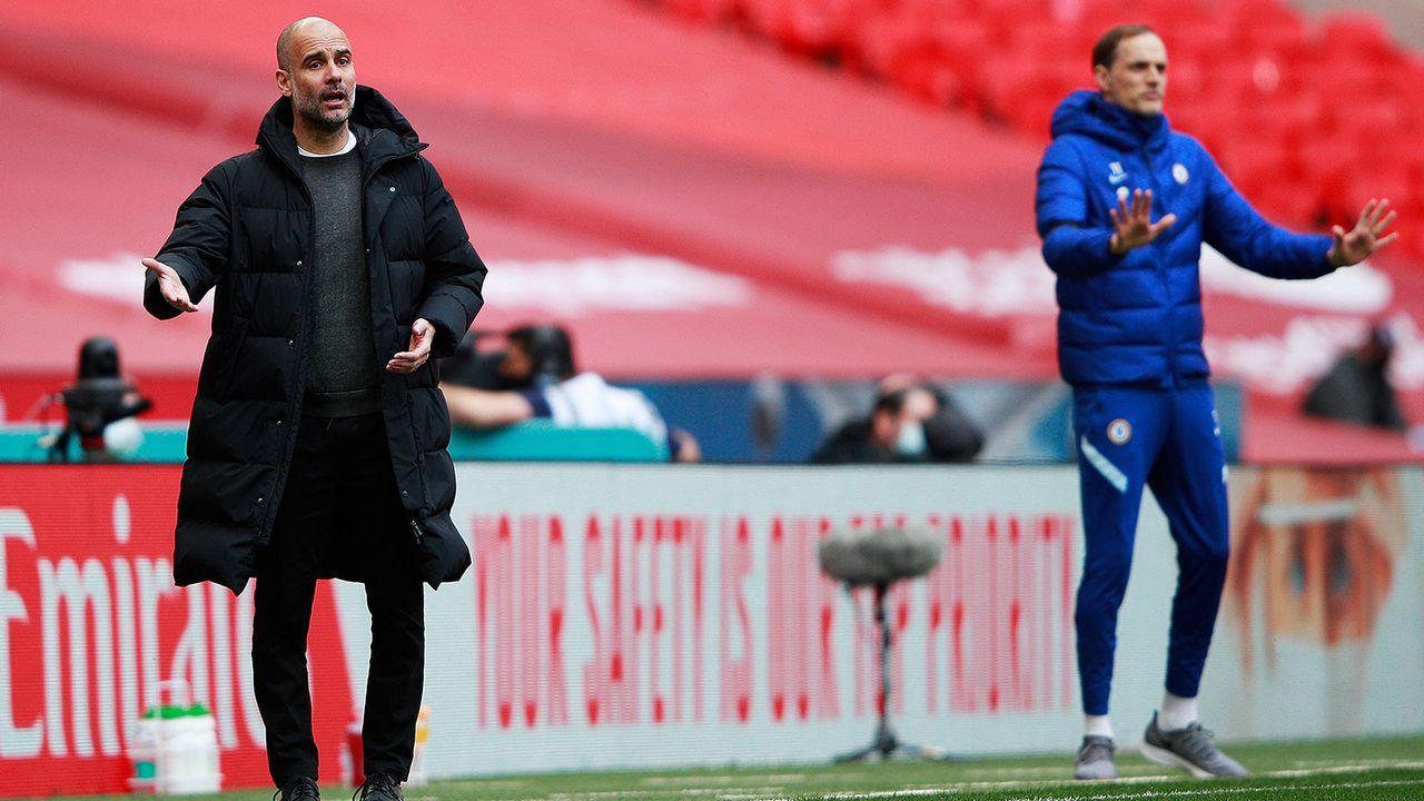 Guardiola vs. Tuchel - Bildquelle: Getty Images