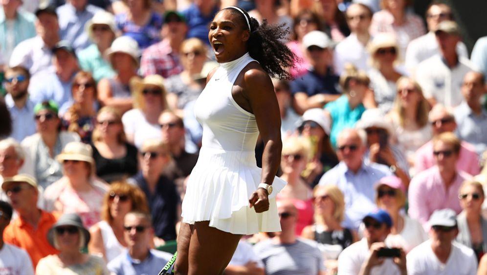 Serena Williams ist mit einer konzentrierten Leistung ins Finale gezogen - Bildquelle: 2016 Getty Images