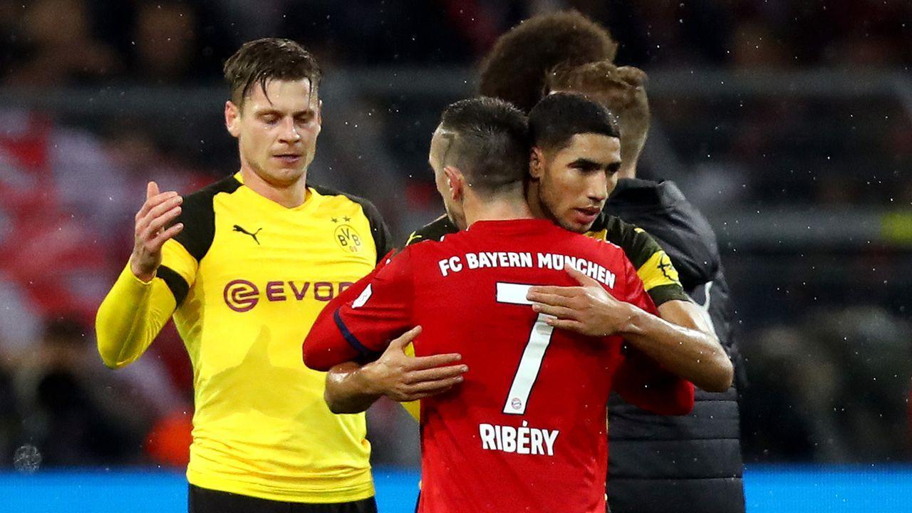 Ribery ohrfeigt TV-Experten nach BVB-Pleite (2018) - Bildquelle: Getty Images
