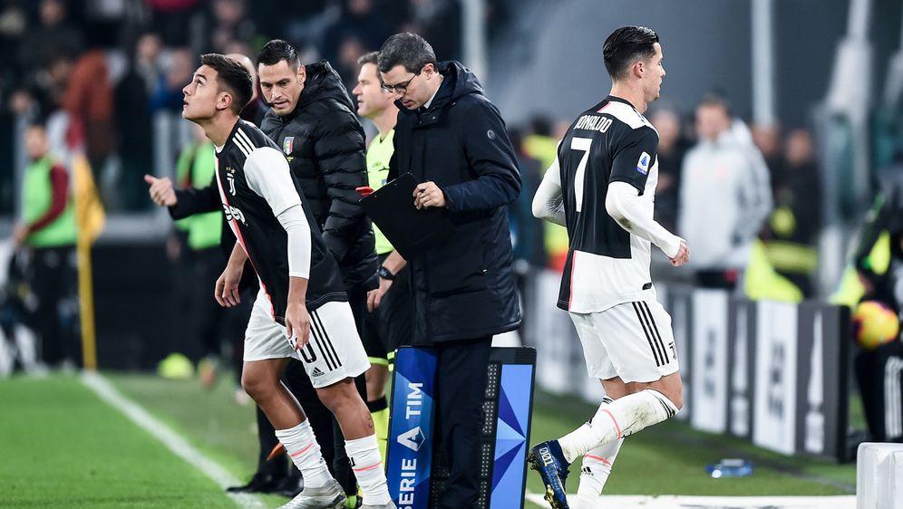 Im Spiel gegen den AC Mailand wurde Juve-Star Cristiano Ronaldo erneut ausge... - Bildquelle: imago images/Gribaudi/ImagePhoto