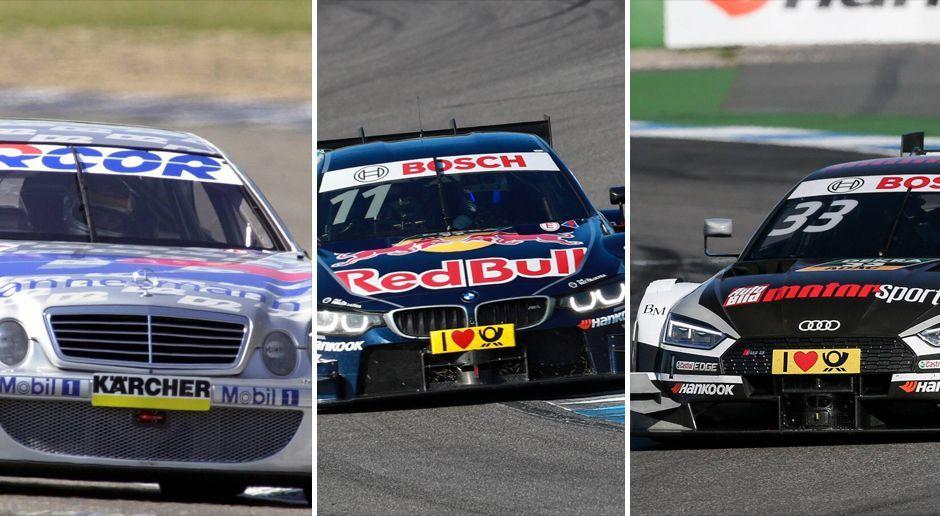 Audi, Mercedes, BMW: Alle DTM-Meisterautos seit 2000 - Bildquelle: Imago
