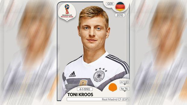 Toni Kroos (Real Madrid) - Bildquelle: Panini