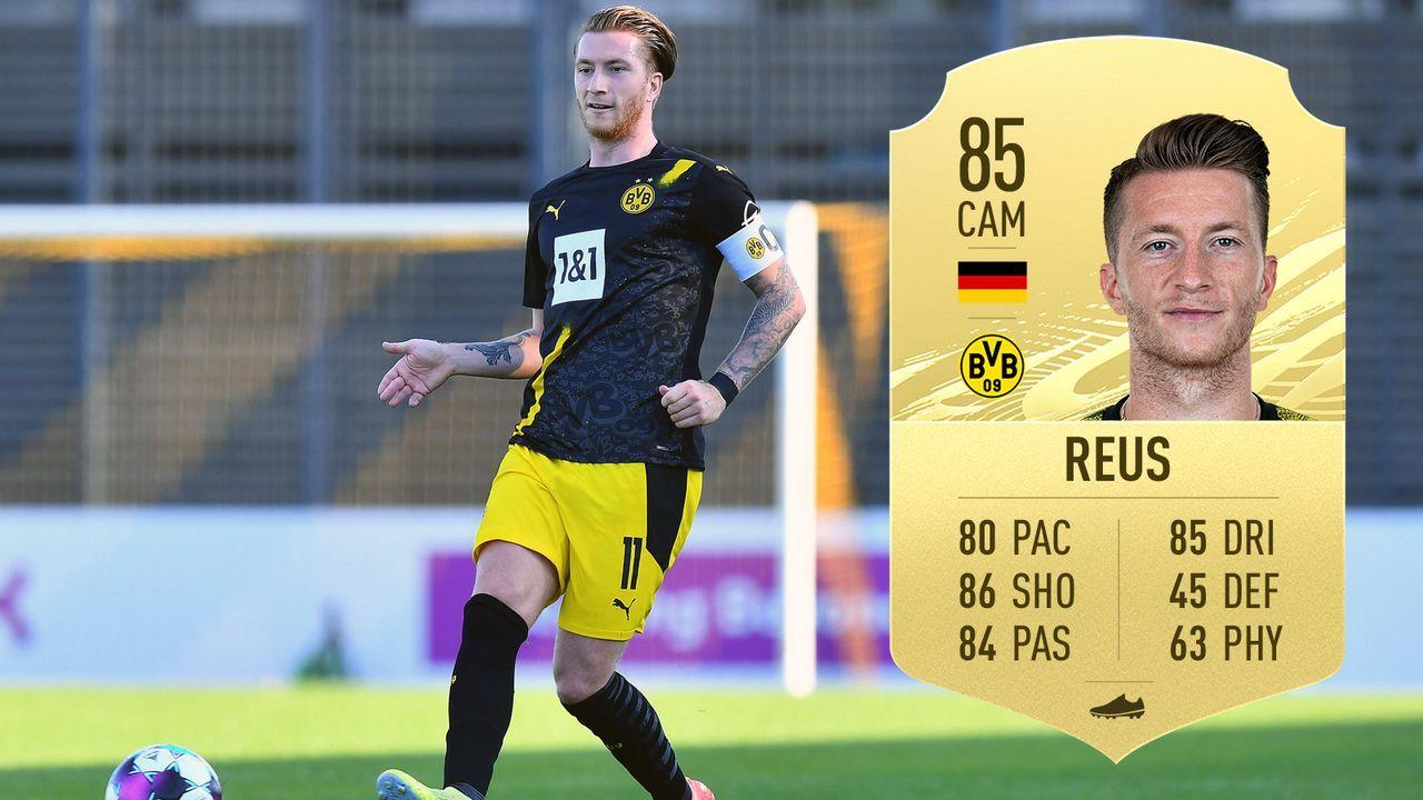 Marco Reus (Borussia Dortmund/Deutschland) - Bildquelle: imago images/Revierfoto/EA Sports