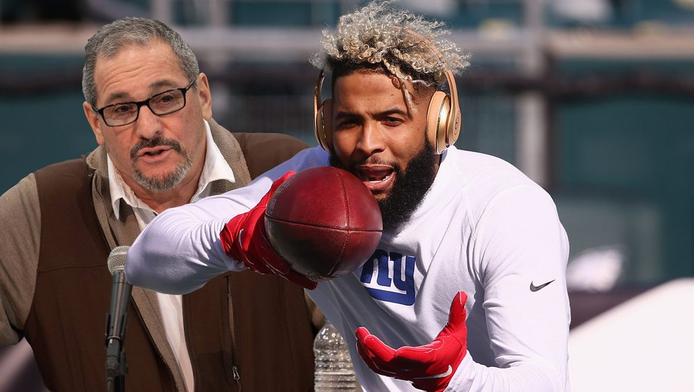 That's Football-Business: Giants-GM Dave Gettleman hat für Odell Beckham Jr.... - Bildquelle: Getty Images, imago