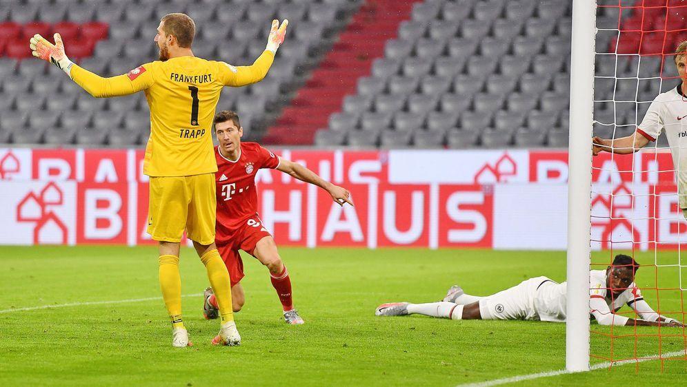 Heute trifft der FC Bayern in der Bundesliga auf Eintracht Frankfurt. Wir ve... - Bildquelle: Imago