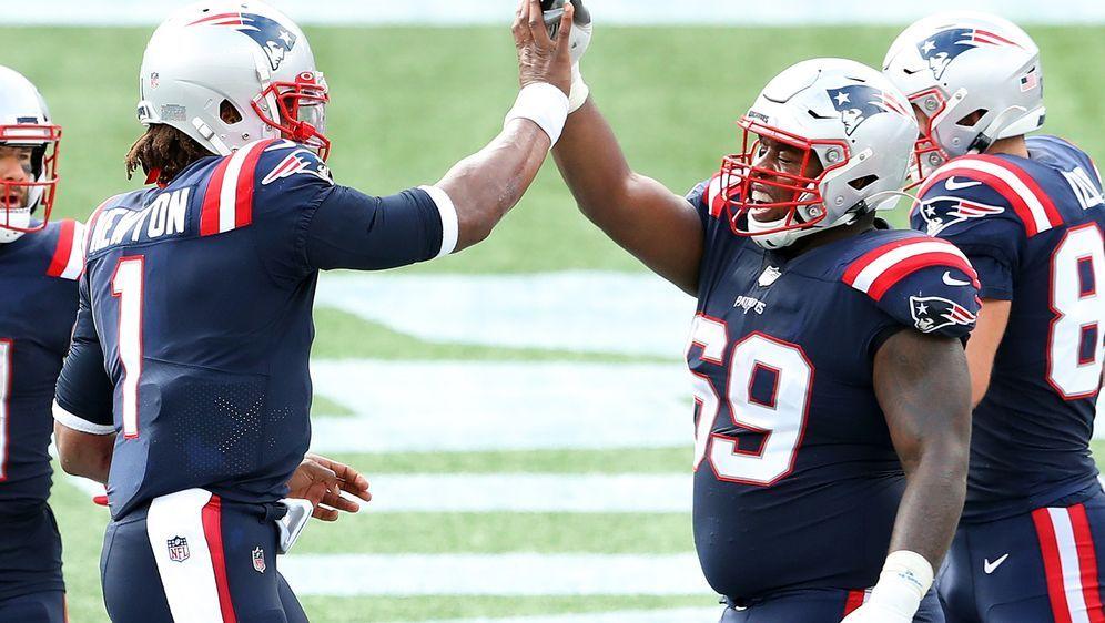 Sony Michel spielt seit 2018 für die New England Patriots. - Bildquelle: 2020 Getty Images
