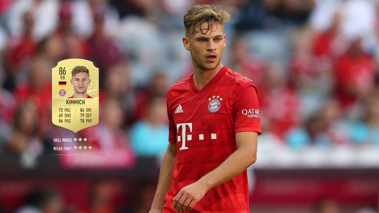 57. Joshua Kimmich (FC Bayern München)  - Bildquelle: 2019 Getty Images