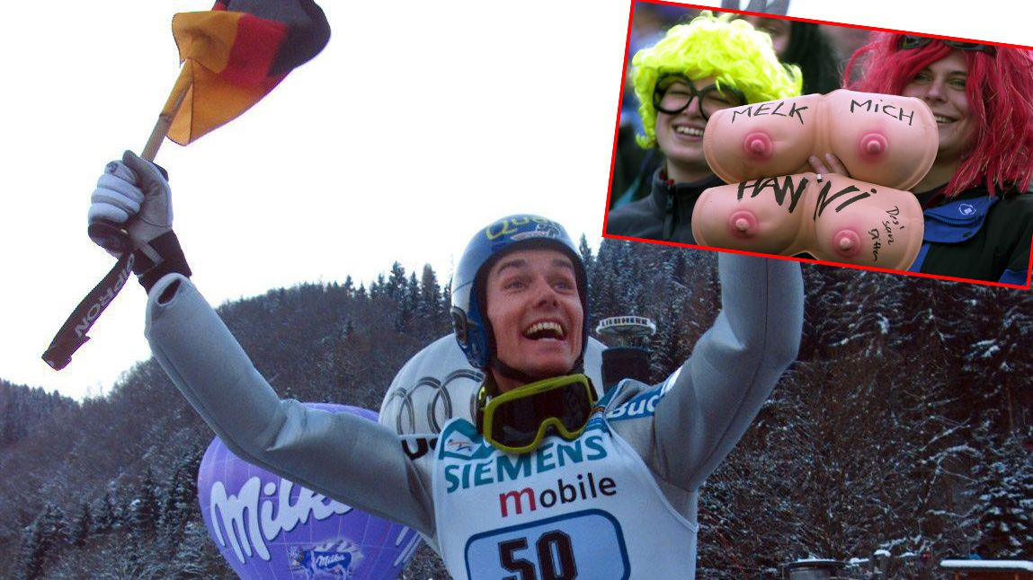 Sven Hannawald gewinnt die Vierschanzentournee - Bildquelle: Bongarts