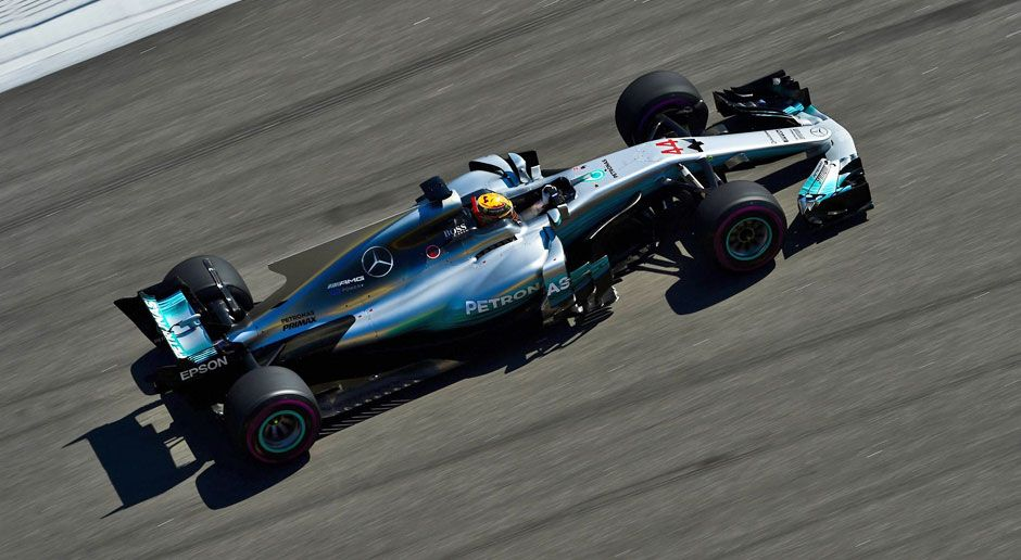 Platz 2: Mercedes AMG F1 - Bildquelle: imago/Eibner