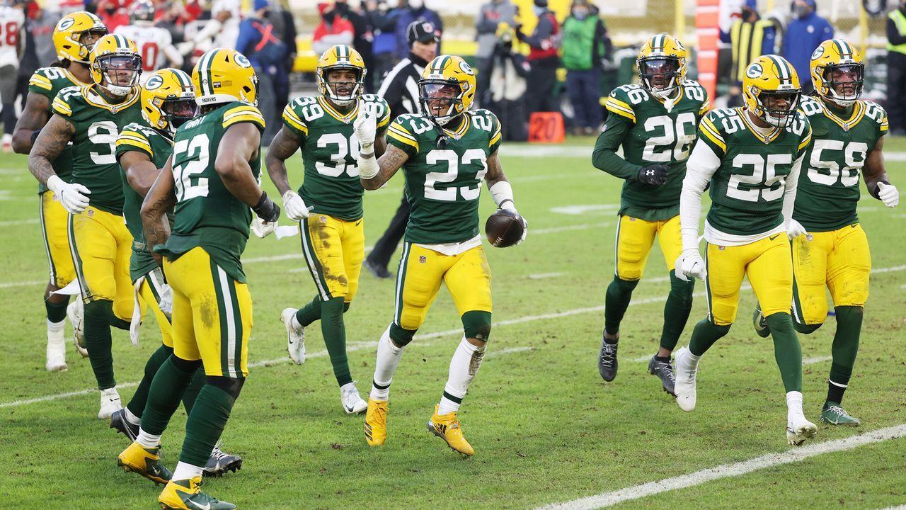 Platz 10: Green Bay Packers  - Bildquelle: 2021 Getty Images