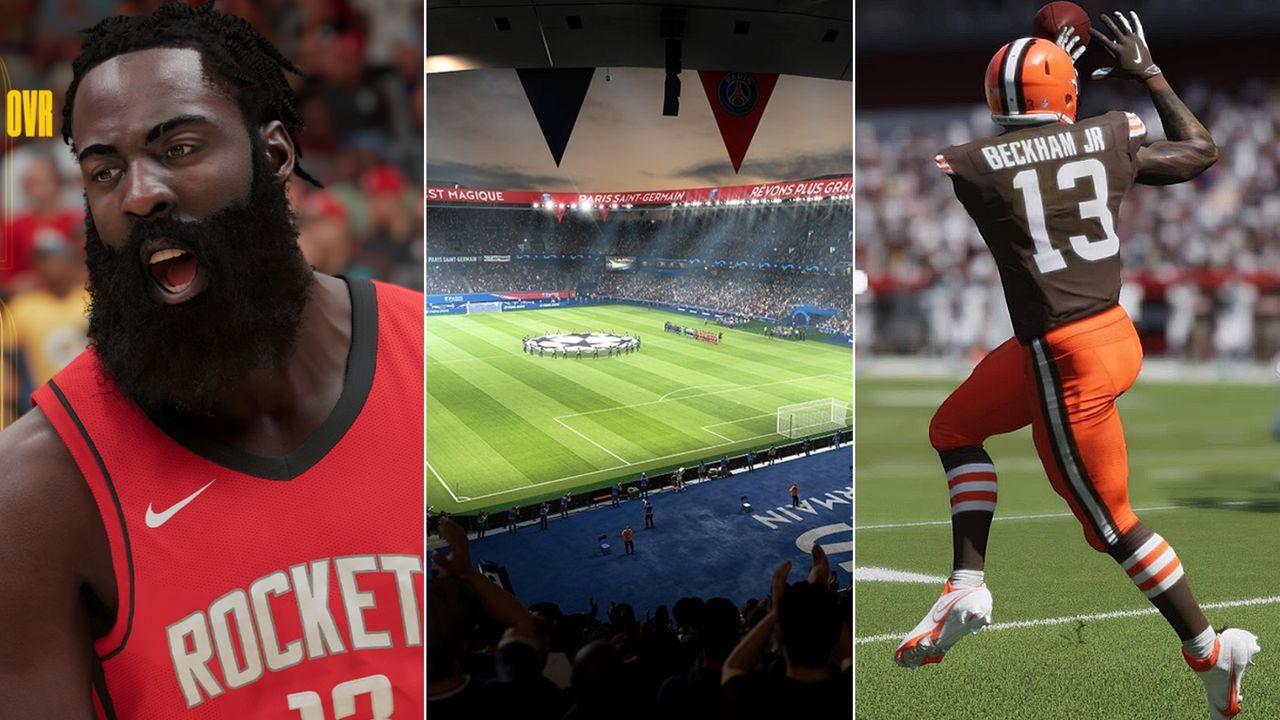 PS5: Auf diese Sport-Games könnt ihr euch freuen - Bildquelle: twitter@NBA2K / twitter@EASPORTSFIFA / twitter@TheNickShook