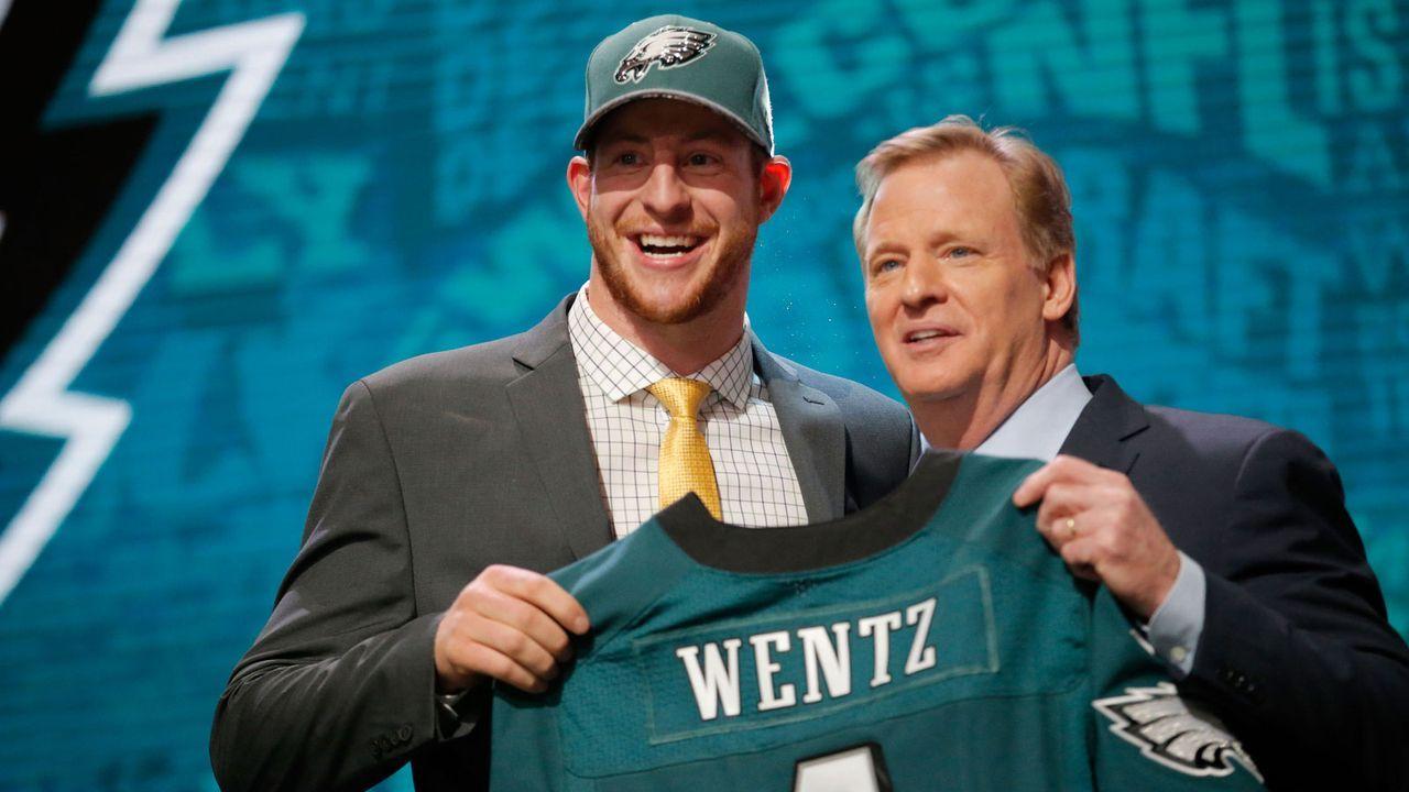 Draft 2016: So kamen die Eagles an Carson Wentz - Bildquelle: Getty Images