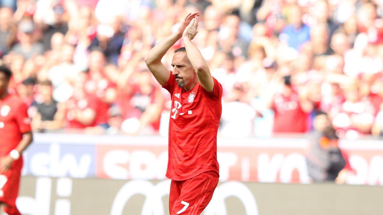 Ribery wird eingewechselt - Bildquelle: 2019 Getty Images
