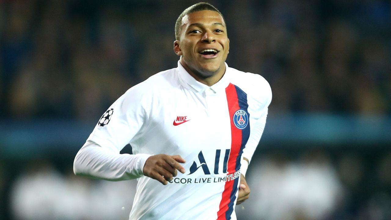 Platz 1 - Kylian Mbappe (Paris St. Germain) - Bildquelle: 2019 Getty Images