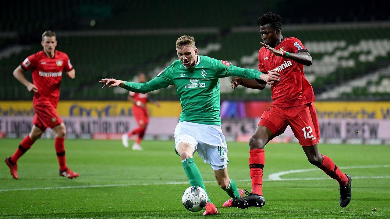 Nick Woltemade (Werder Bremen) - Bildquelle: Getty Images