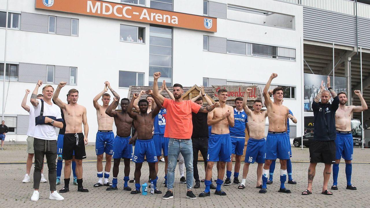 1. FC Magdeburg mit dabei - Bildquelle: 2020 imago