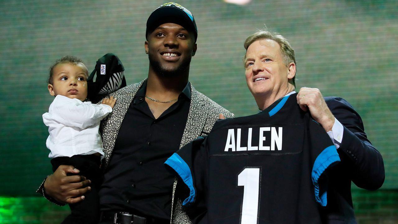 Draft Pick 7: Jacksonville Jaguars - Bildquelle: 2018 Getty Images