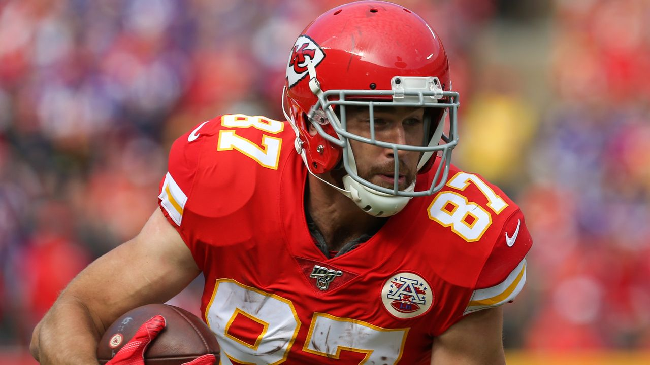 15. Spieltag: Travis Kelce (Kansas City Chiefs) - Bildquelle: imago images/Icon SMI