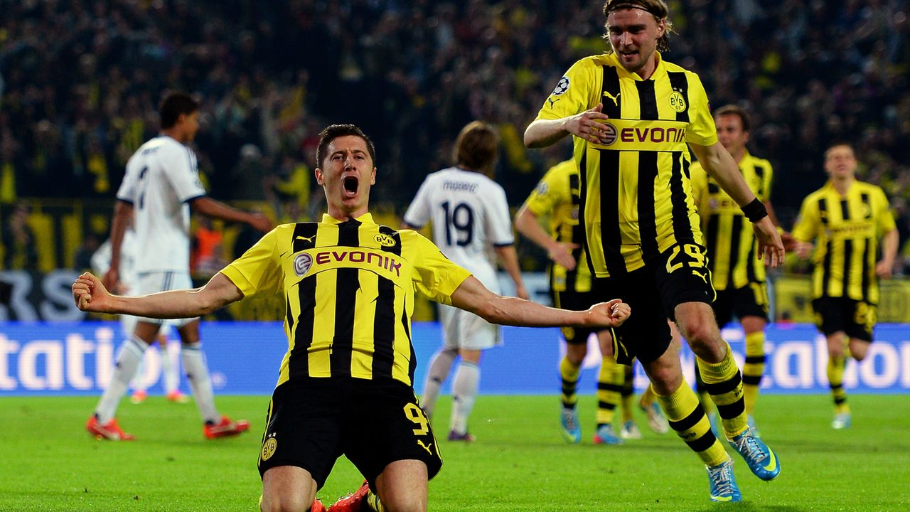 Robert Lewandowski (Borussia Dortmund) - Bildquelle: 2013 Getty Images