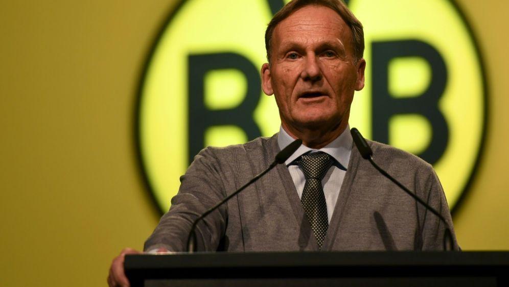 Klare Ansage: Watzke will mit dem BVB Meister werden - Bildquelle: AFPSIDPATRIK STOLLARZ