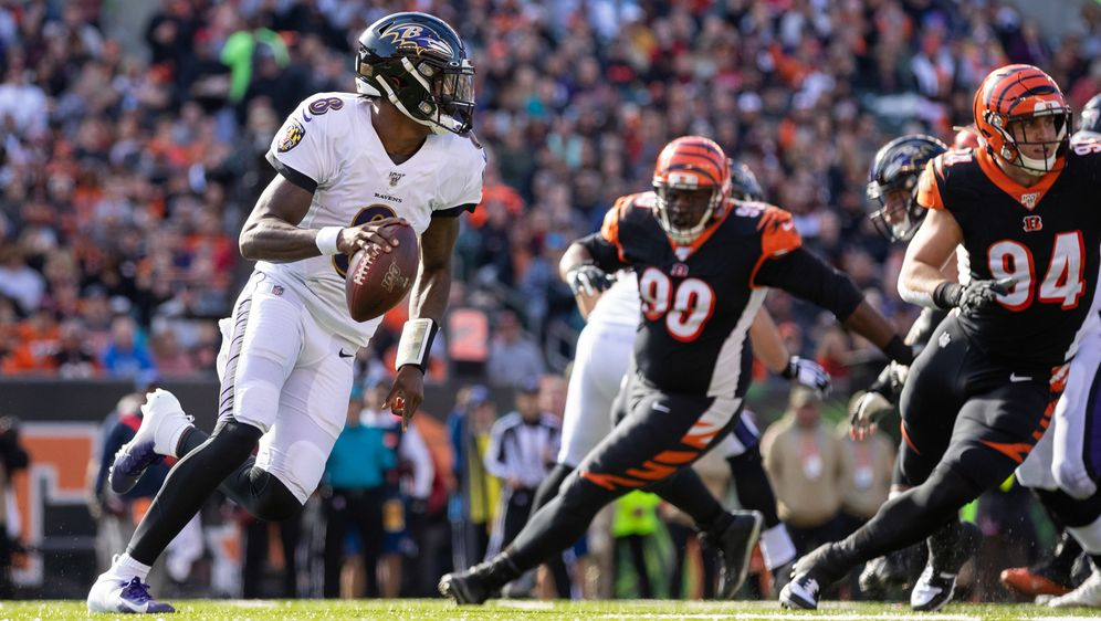 Lamar Jackson von den Baltimore Ravens gilt als möglicher MVP-Kandidat - Bildquelle: imago images/ZUMA Press